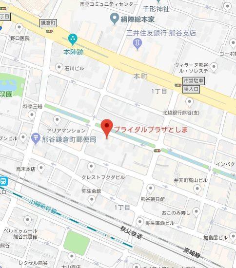 アクセスマップ(熊谷店)